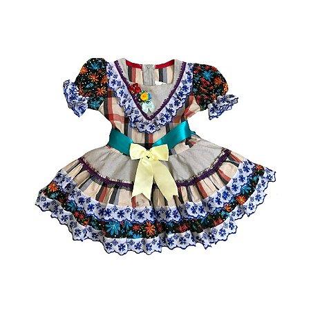 Vestido Festa Junina BELLA VEST Infantil
