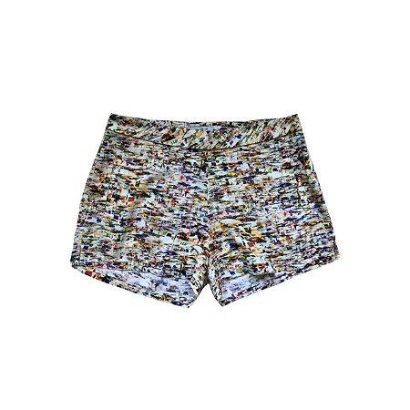 Shorts LUIGI BERTOLLI Feminino Estampado