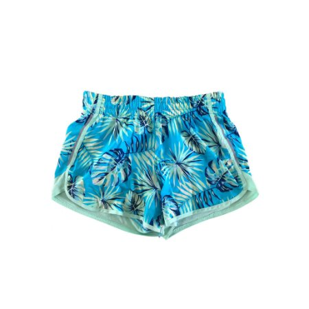 Shorts Athletic Infantil Verde e Azul