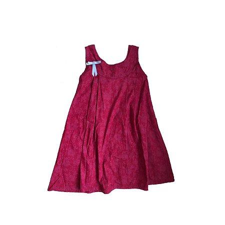 Vestido MINI VIDA Infantil Vermelho