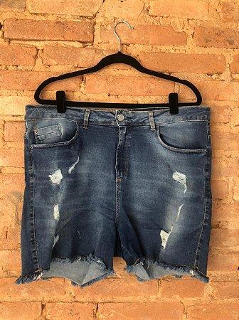 Shorts Jeans Marisa Escuro