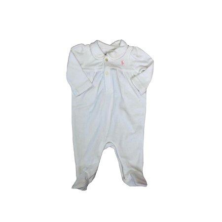 Macacão Ralph Lauren Branco de Plush