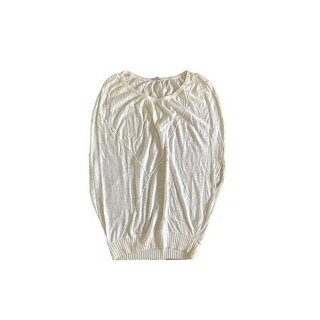 Blusa LE LIS BLANC Feminina Off White em Trico
