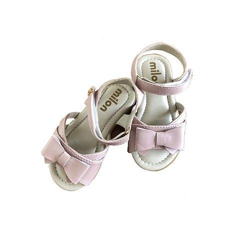 Sandália MILON Infantil Rosa - Nunca Usada