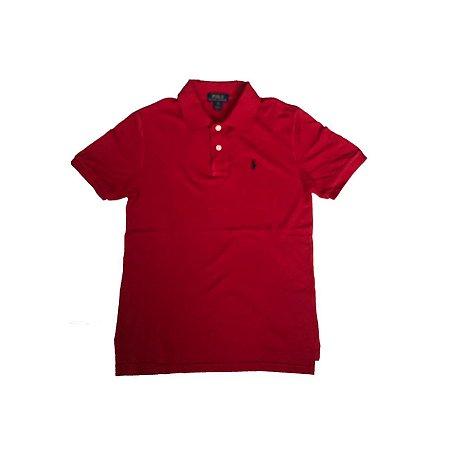 Camiseta Polo RALPH LAUREN Infantil Vermelha