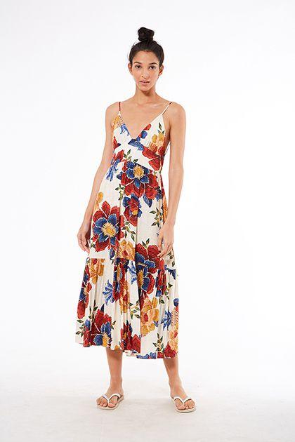 Vestido Canto das Águas Floral Farm