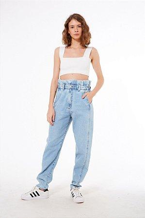 Calça Semi Baggy Refarm Jeans Farm