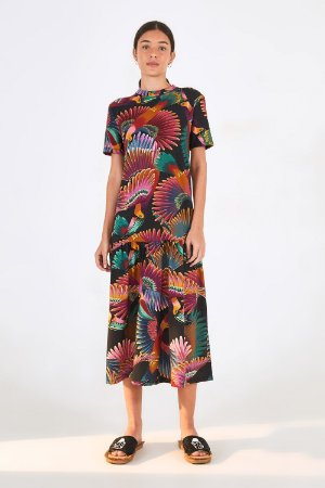 Vestido cropped Frescor de Tucano Farm