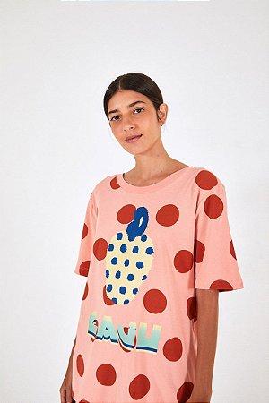 T-shirt Media Silk Caju Poa Farm
