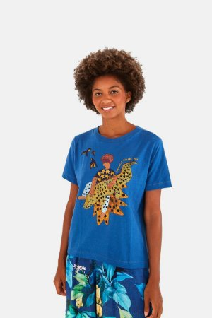 T-shirt Fit Silk Jacare Farm