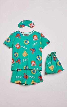 Pijama Conjunto Macaco Fabula