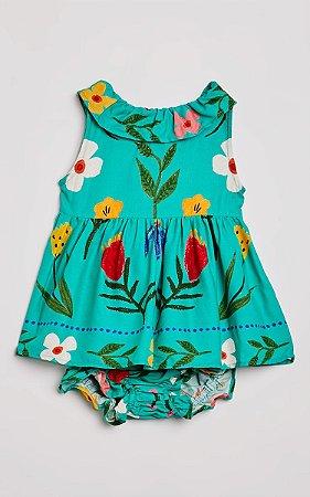 Vestido Bebe Florescencia Fabula