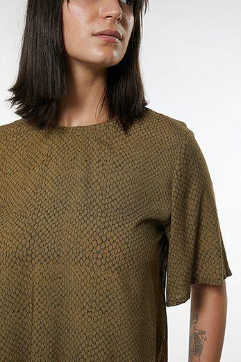 T-shirt Escama Oliva Animale