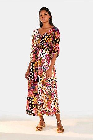 Vestido Meio a Meio Bananatic Farm