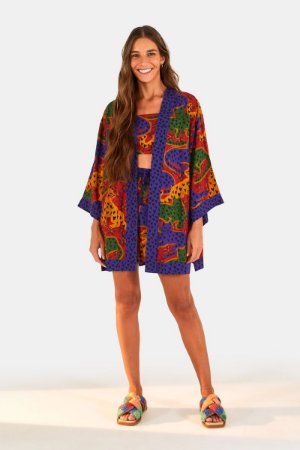 Kimono Onça Coração Farm