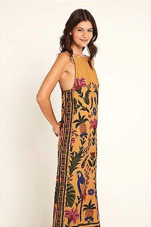 Vestido Cropped Tapeçaria Tropical Farm