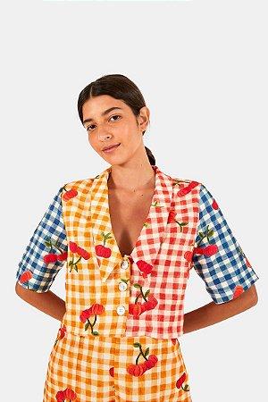 Camisa Pitanga Vichy Farm