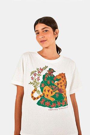T-shirt Fit Jaguatirica Farm