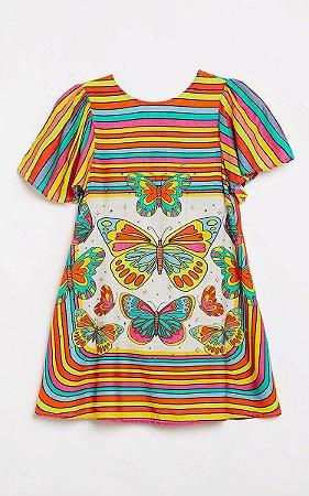 Vestido Lenço Farfalla Fabula