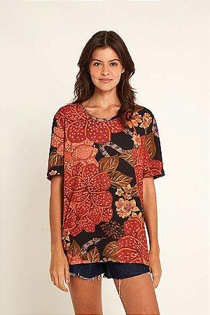 T-shirt Floral Onçado Farm