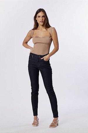 Calça Basic Skinny Midi Long Amaciada Animale