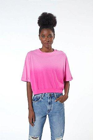 Tshirt Cropped Raglan Animale