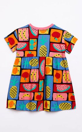 Vestido Malha Frutacor Fabula