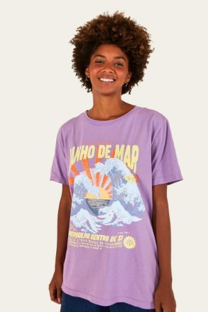 T-shirt Media Banho de Mar Farm