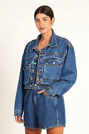 Short Jeans Cos Elastico Farm