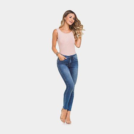 Calça Jeans Skinny Escultural Lunender