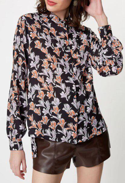 Camisa Floral Urbano FYI