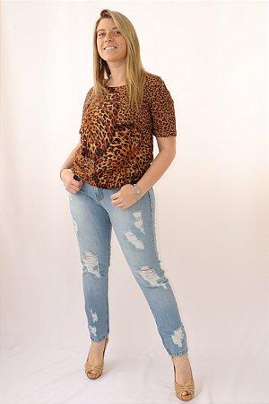 Calça Jeans Feminina Boyfriend Farm