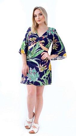 Vestido Tecico Rayon Bali Lez a Lez