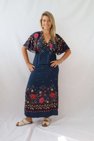 Vestido Longo Flor da Noite Farm