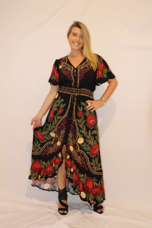 Vestido Longo Monique Farm
