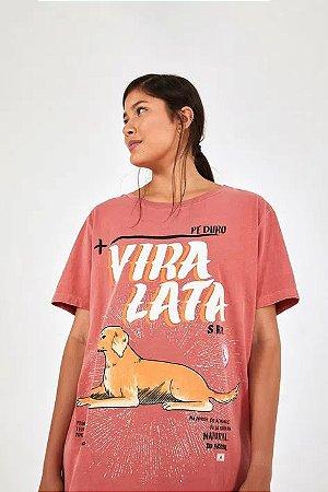 T-shirt Ampla Vira Lata Farm