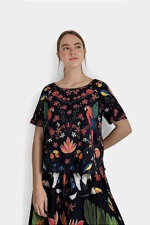Blusa T-shirt Selva Chic Farm