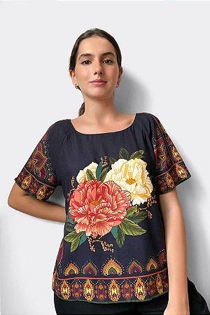 Blusa T-shirt Caliandra Farm