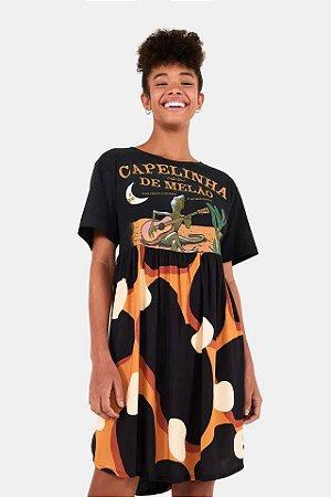 Vestido Capelinha Onça Caju Farm