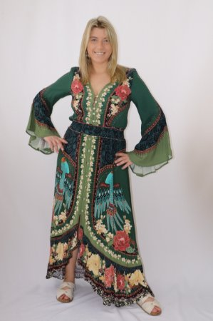 Vestido Cropped Encanto das Flores Farm
