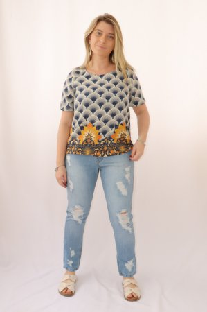 Blusa T-shirt Solaris Farm