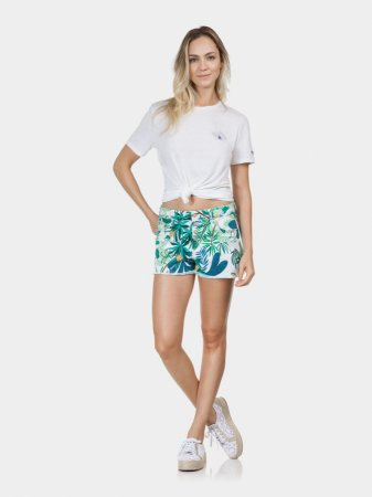 Shorts Sarja Miami Estampado Botões Enanas Lez a Lez