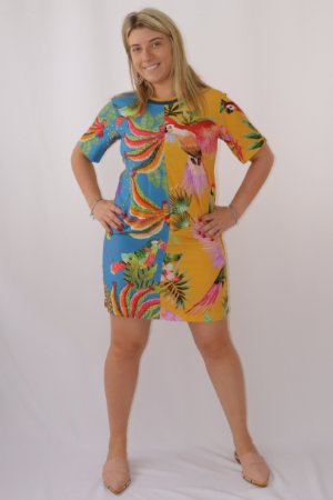 Vestido T-shirt Bananas Farm