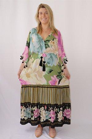 Vestido Artesanal Liz Farm