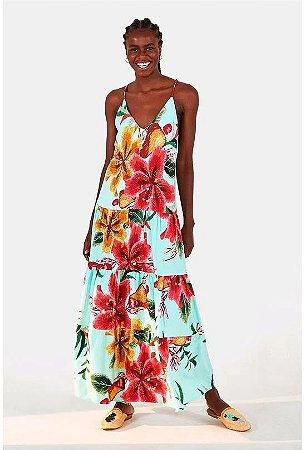Vestido Cropped Bordando Flor Farm