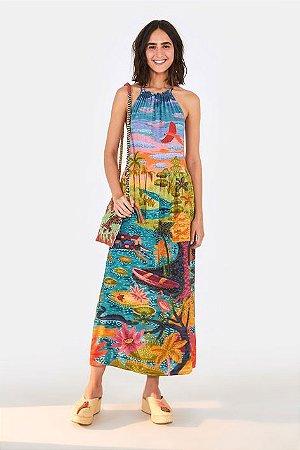 Vestido Cropped Sonho na Amazônia Farm