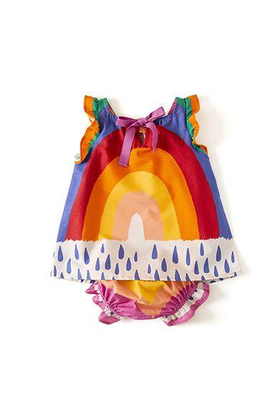 Vestido Bebê Íris Fabula