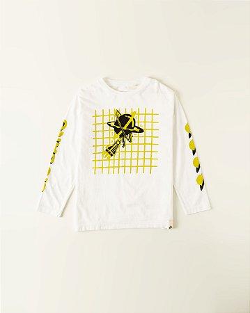 Camiseta Silk Átomo Cósmico Fabula