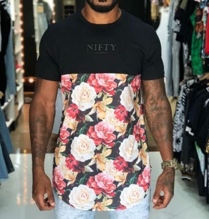 Camiseta Nifty Divided Flowers Dn01