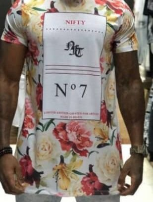 Camiseta Nifty Long Number Seven